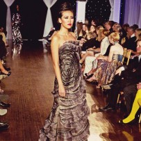Design by Mira Couture shown at Next Fashion 2012 runway show at Germania Place during Fashion Focus Week Chicago.